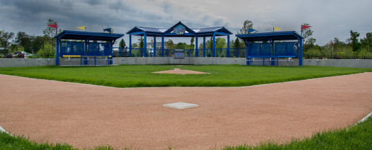 Infield at Henry Doorly Zoo